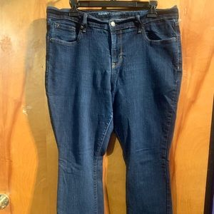 Old Navy 14 curvy boot cut jeans